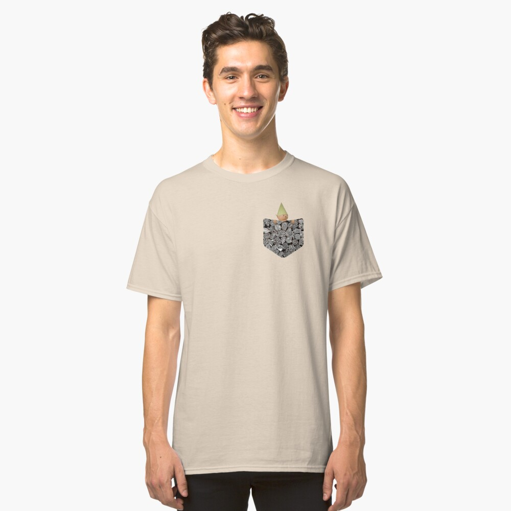 Runescape Gnome Child in Pocket Classic T-Shirt Front