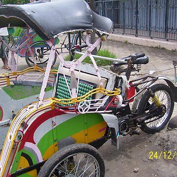 Motor Becak by warustudio