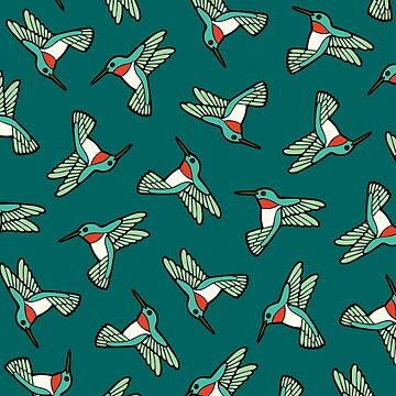 Hummingbird Pattern  by evannave