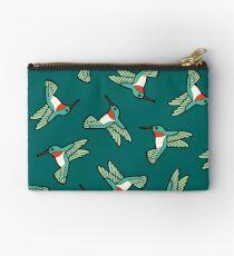 Hummingbird Pattern  Studio Pouch