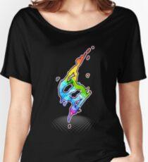 Mega evolution symbol - Charizard X Women's Relaxed Fit T-Shirt