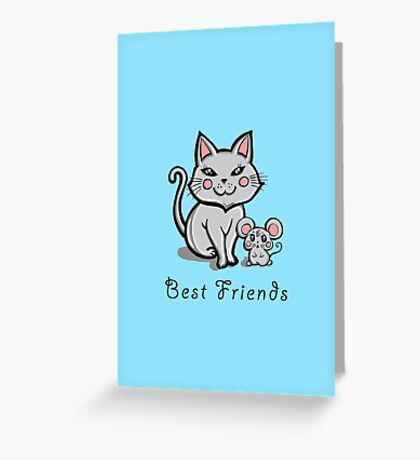 """Best Friends"" Greeting Card"