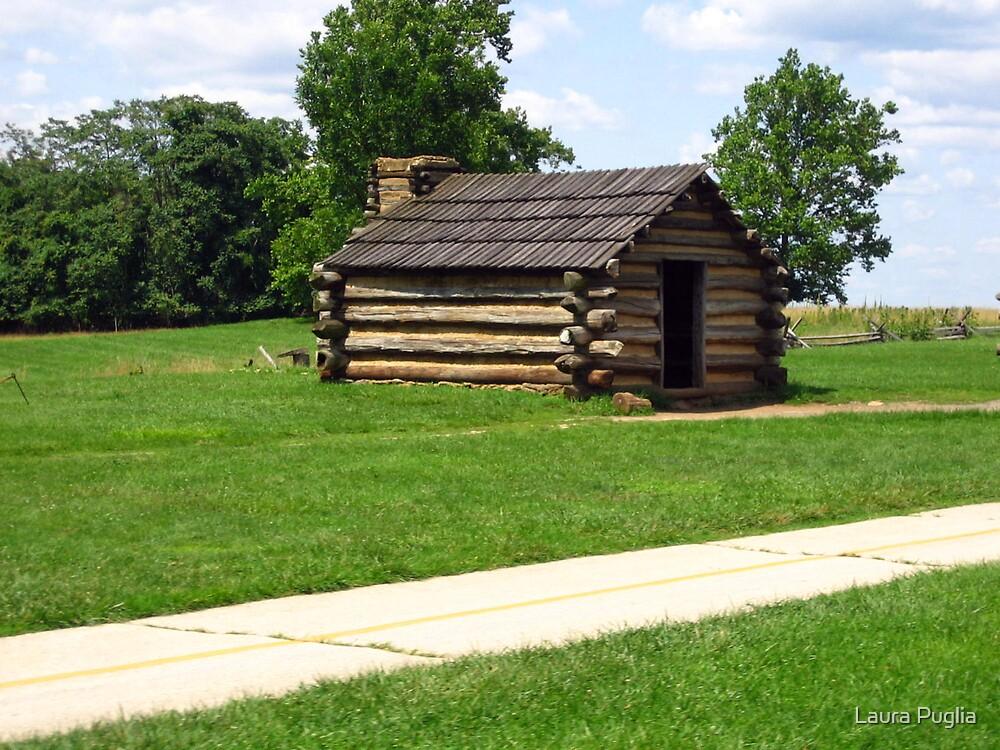 Log Cabin by Laura Puglia