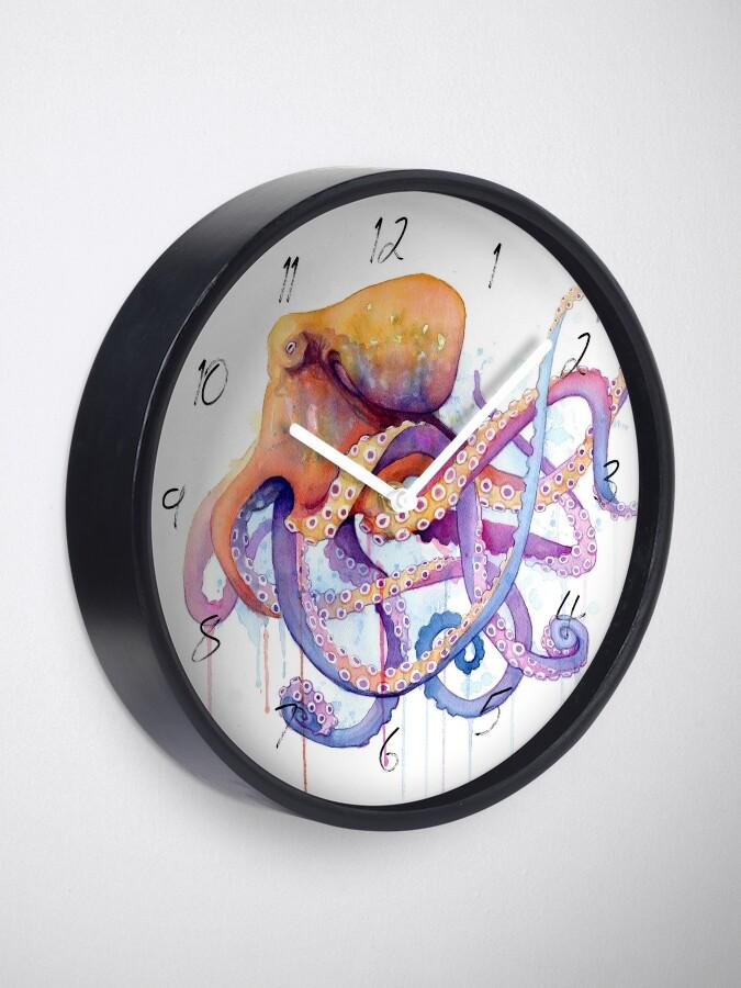 Alternate view of Octopus II Clock