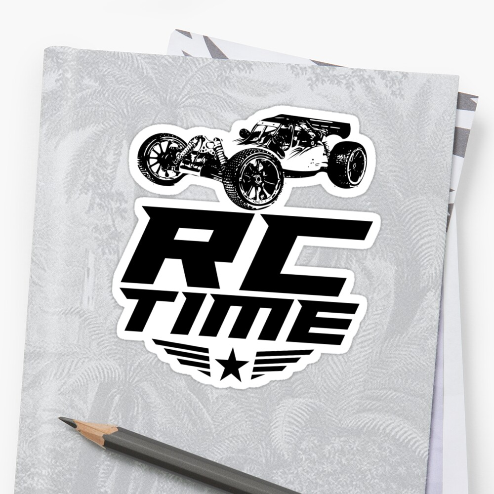 Rc time racing cars great for remote radio control driver great rc car car lover shirts custom rc car shirt 3 sticker by zkoorey redbubble