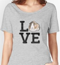 Love Guinea Pigs - Cute Guinea Pig Pet Lover Women's Relaxed Fit T-Shirt