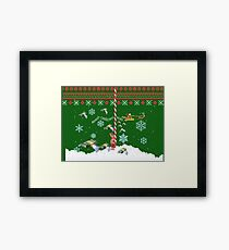 MERRY CHRISTMAS HOES Framed Print