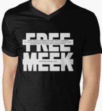 Free Meek Men's V-Neck T-Shirt