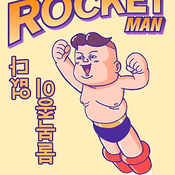 Rocket Man t-shirt by eddycasanta