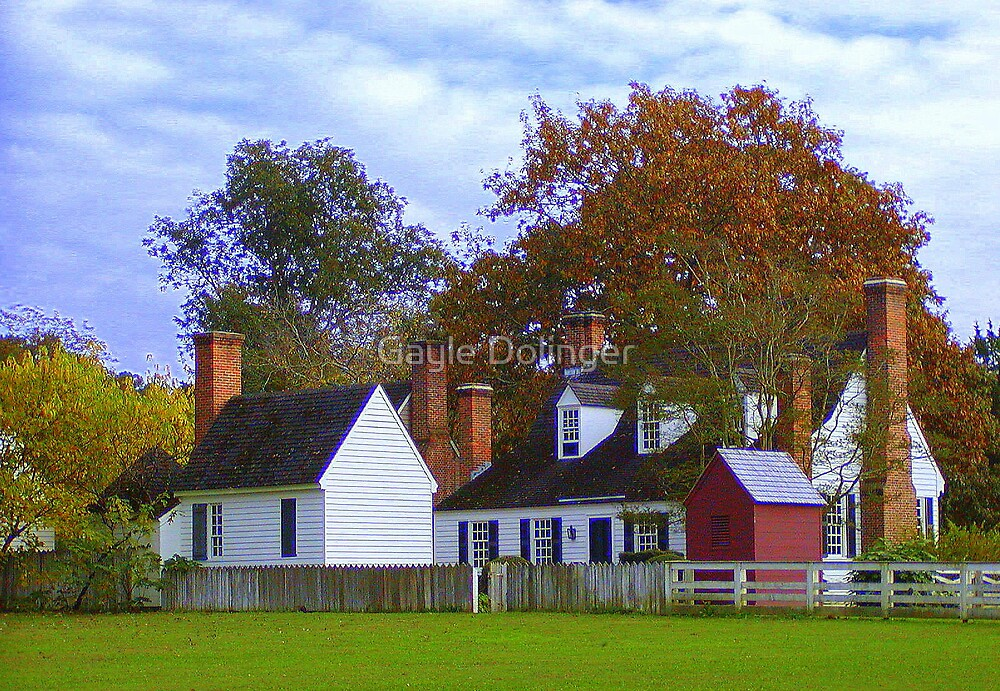 Fall in Williamsburg by Gayle Dolinger