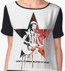 David Bowie - Starman Women's Chiffon Top