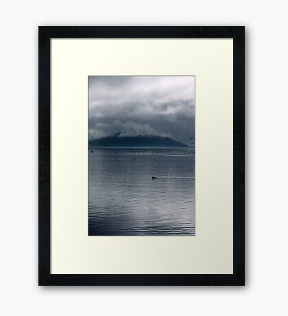 Shrouded in Mist Framed Print