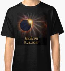 Jackson Hole Wyoming Solar Eclipse  Classic T-Shirt