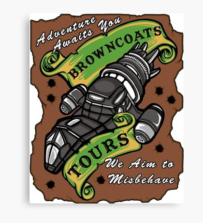 Browncoats Tours Canvas Print