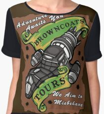 Browncoats Tours Chiffon Top