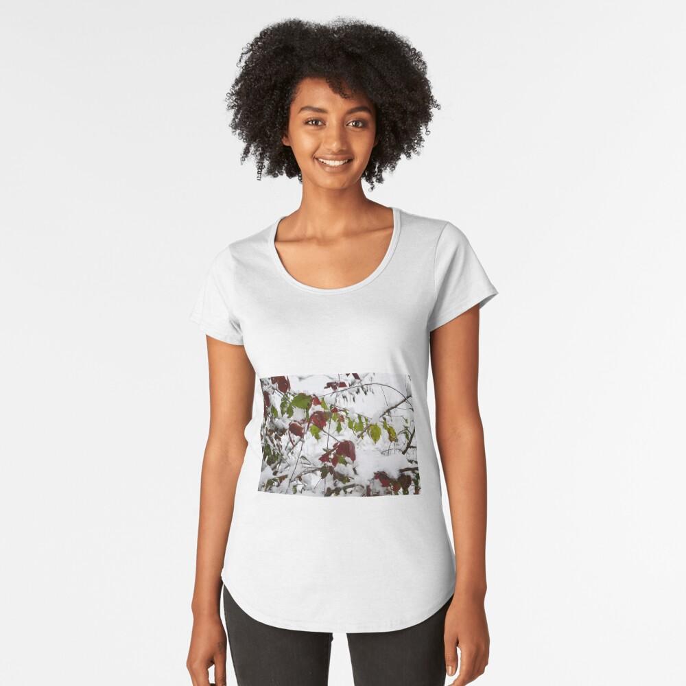 Winter Premium Scoop T-Shirt