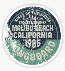 Malibu Beach Sticker