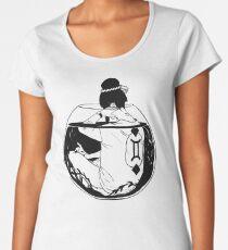 Thinking too small - Inktober 2016 Women's Premium T-Shirt