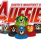 Aussies - Earth Mightiest Doggies by DoggyGraphics