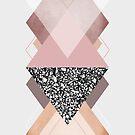 Geometric Textures 9 by Mareike Böhmer