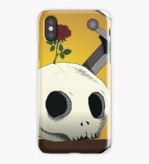 Skull & sword iPhone Case/Skin