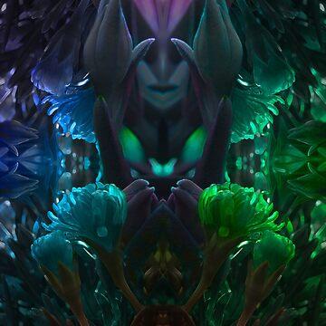 Flower Goddess by Vaelz