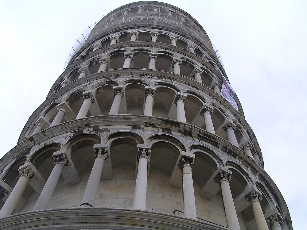 Leaning Tower of Pisa, Italy by jillian4840