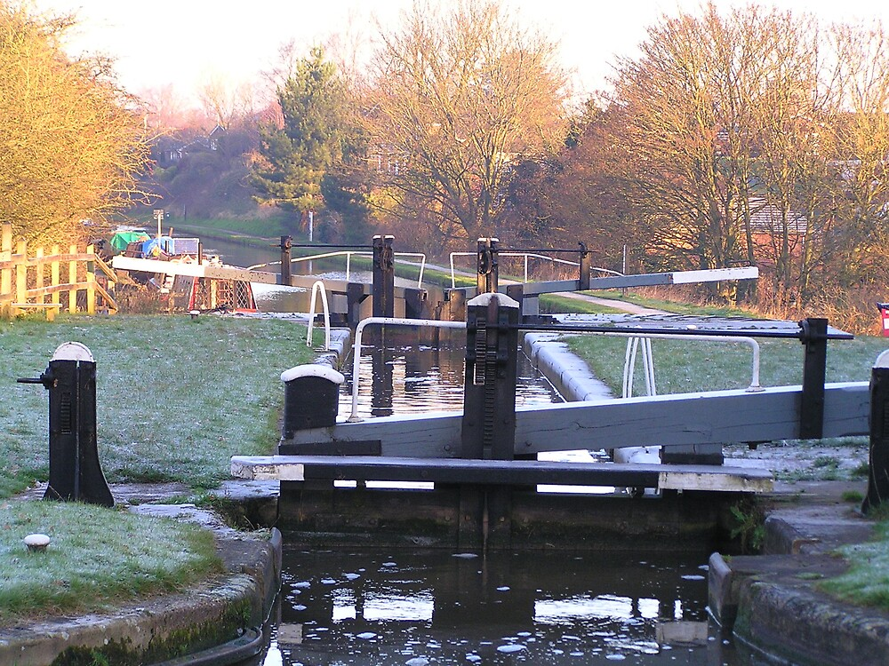 Early Morning on the Shropshire Union Canal, England by jillian4840