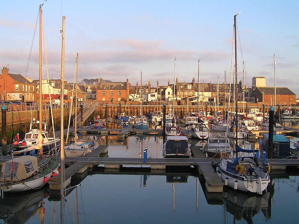 Dundee Harbour, Scotland by jillian4840