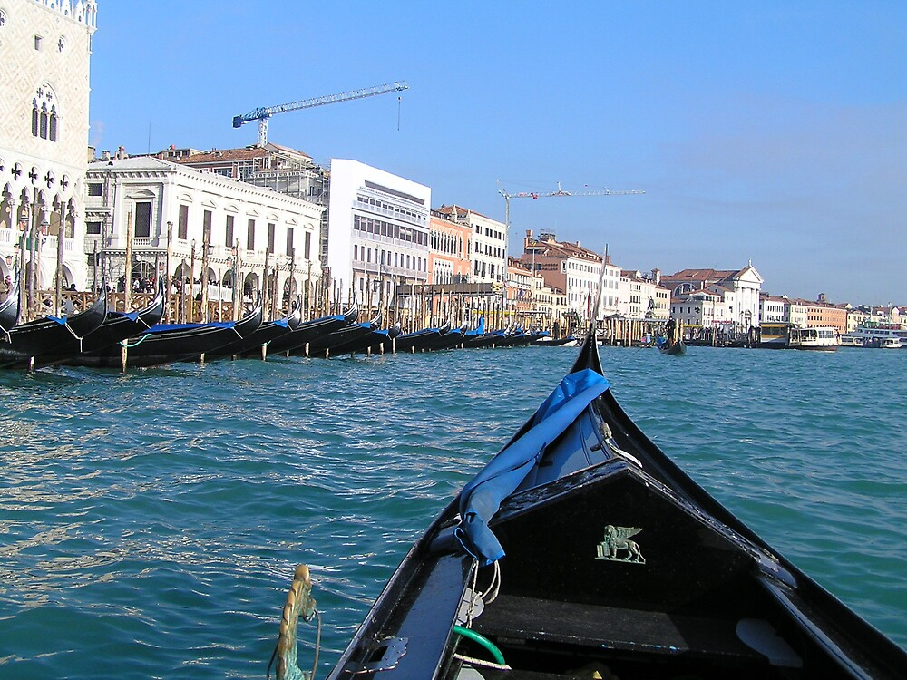 Grand Canal, Venice, Italy by jillian4840