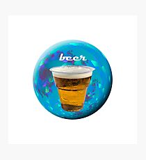 Beer advertising Photographic Print