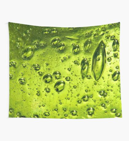 Bubbles in Glass Wall Tapestry