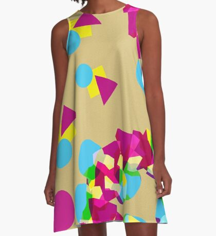 Color Forms A-Line Dress