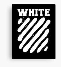 white image Canvas Print