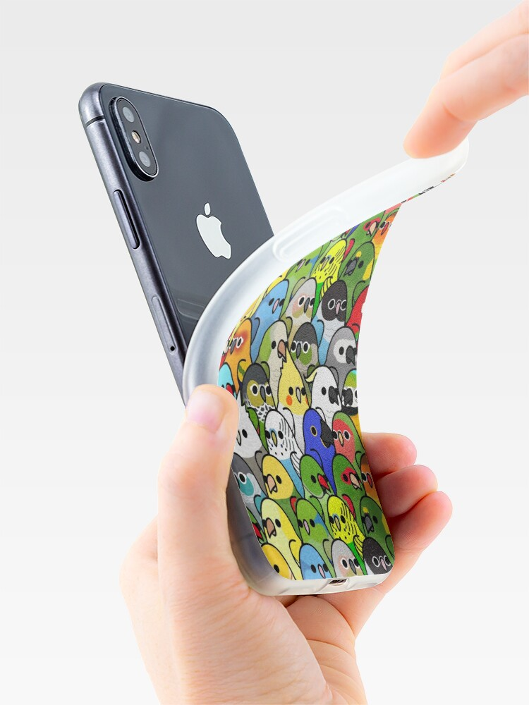 Alternate view of Too Many Birds! Bird Squad Classic iPhone Case & Cover