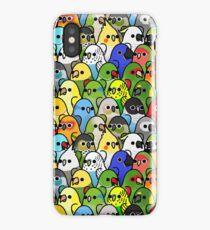 Too Many Birds! Bird Squad 1 iPhone Case/Skin