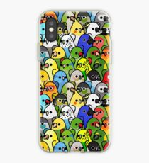 Too Many Birds! Bird Squad 1 iPhone Case