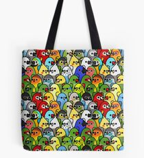 Too Many Birds! Bird Squad 1 Tote Bag