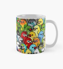 Too Many Birds! Bird Squad 1 Mug