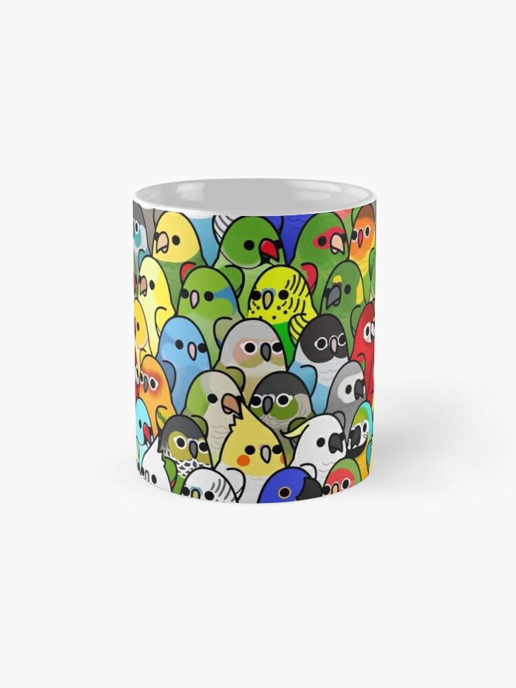 Alternate view of Too Many Birds! Bird Squad Classic Mug
