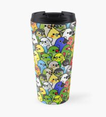 Too Many Birds! Bird Squad 1 Travel Mug