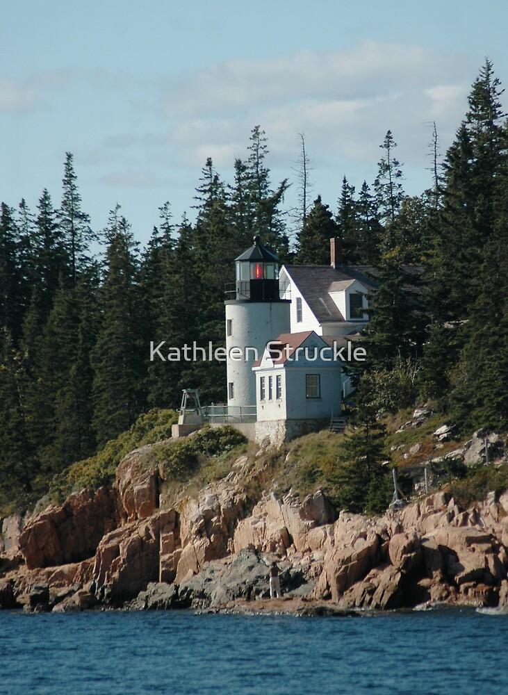 Bear Island Lighthouse by Kathleen Struckle