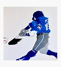 """""""Hit it out of the park!"""" Photographic Print"""