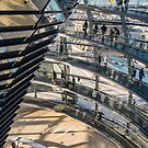 Detail in the Reichstag Dome by Cliff Williams