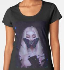 Dark Butterfly ★ Women's Premium T-Shirt