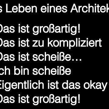 Architekt - Das Leben eines Architekten by nektarinchen