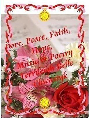 Love, Peace, Faith, Hope, by terrileigh belle chwastyk