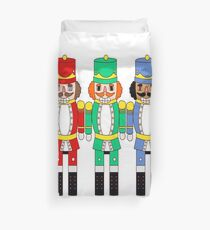 Nutcrackers Trio Duvet Cover