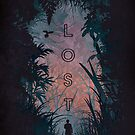 Lost - Travel Illustration by MikeHindle