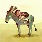 Boy and Donkey by Carlotta Notaro